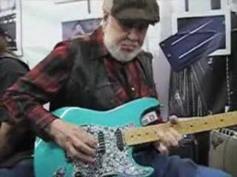 Bill Lawrence at NAMM 2008
