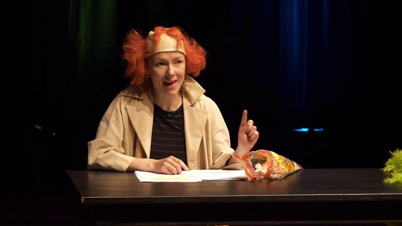 """Next Stage  Europe"" Teil 3: Kacia Chekatouskaya (Belarus): »Diskret« (Auszüge)"