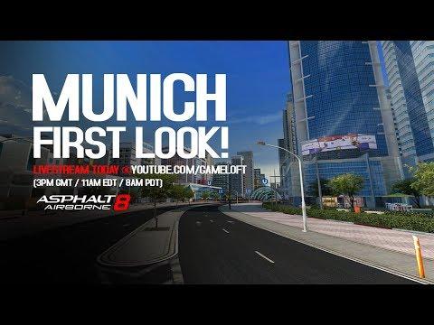 Asphalt 8 - New Location: Munich
