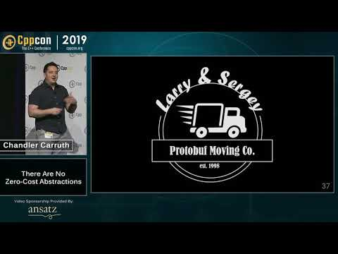 CppCon 2019: Chandler Carruth There Are No Zero-cost Abstractions