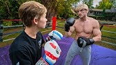I ACTUALLY BOXED LOGAN PAUL! *EXCLUSIVE SPARRING FOOTAGE*