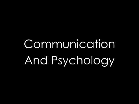 Communication And Psychology