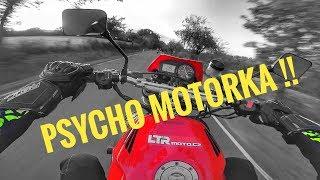 MOTOVLOG #34 - PSYCHO MOTORKA !! / V DŽÍNECH na koleno ??? /  Honda CBR 954 RR