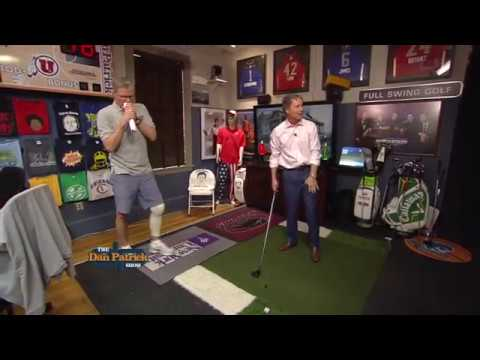 Golf Channel's Brandel Chamblee Trades Swings with Seton | The Dan Patrick Show | 7/12/17