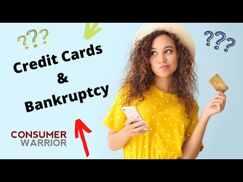 Bankruptcy Chapter 7 - Credit Cards