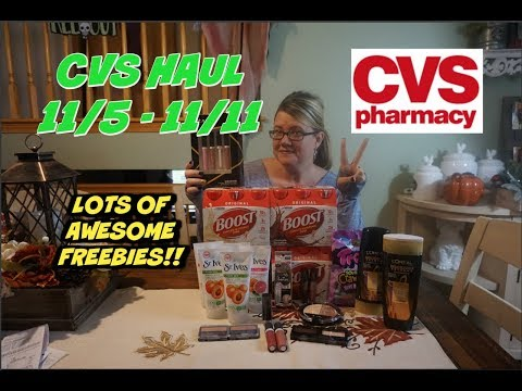CVS HAUL 11/5 - 11/11 | AWESOME DEALS & FREEBIES THIS WEEEK!!!  😍😍