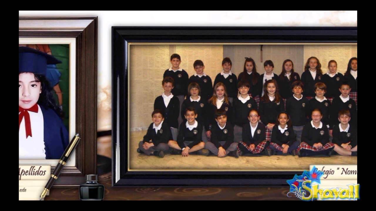 Plantillas psd graduaci n escolares mosaicos diplomas - Plantillas para la pared ...