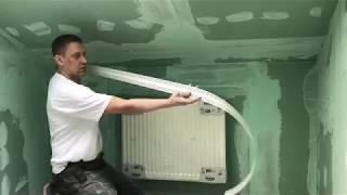 Как шпаклевать углы на мансарде