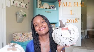 FALL HAUL 2018 HOME DECOR