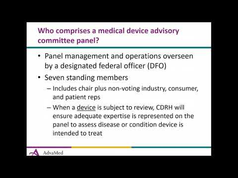 FDA Advisory Committee Meetings and the Role of the Industry