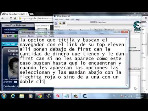 ... top eleven football manager de facebook cheat engine 6 3 - YouTube