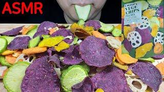 #108_Crispy vegetable chips 먹방…