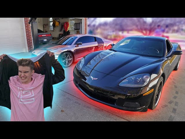 MY BEST FRIEND FINALLY GOT HIS DREAM CAR!! *R8 VS CORVETTE*