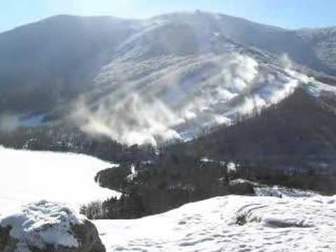 Snow Making on Cannon Mountain