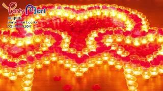 티라이트초 프로포즈 촛불이벤트 세트