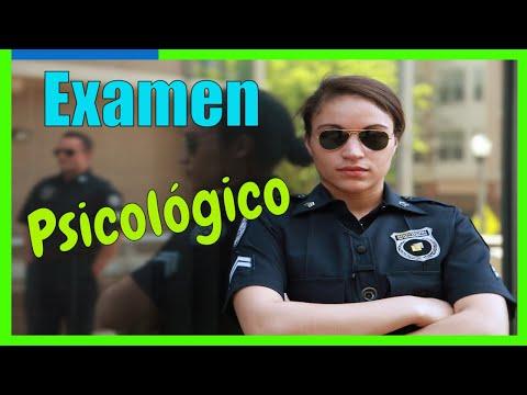 C�mo Pasar un Examen Psicol�gico Para Ingresar a la Polic�a