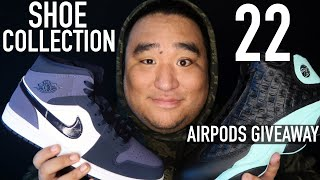 ASMR | Shoe Collection 22 (Airpods Giveaway)