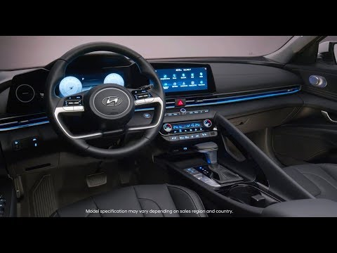 2021 Hyundai Elantra INTERIOR In Details (Design And Technology)