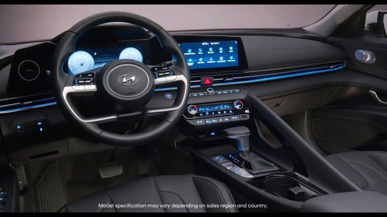 Images Hyundai Elantra 2021 Interior