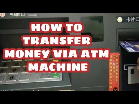 How To Transfer Money Using Atm Machine Via Visa Card