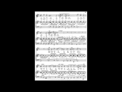 5 Sebben crudele (from 24 Italian Songs) piano melody with accompaniment