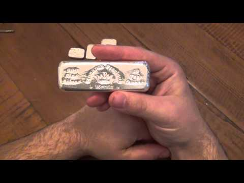 Silver Review :  Monarch Precious Metals Hand Poured Bar (10ozt)