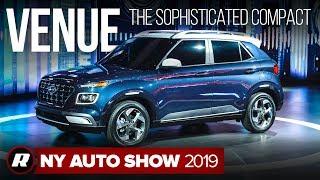 2020 Hyundai Venue makes the subcompact crossover SUV even smaller | New York Auto Show 2019
