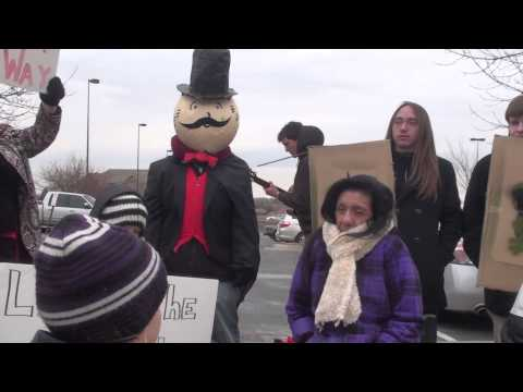 Idle No More Nebraska Protest In Omaha at the TransCanada Of