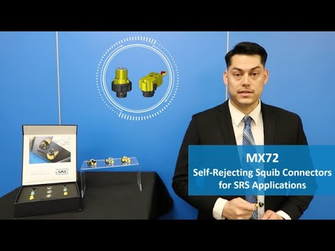 MX72 Self-Rejecting Squib Connectors for SRS Applications