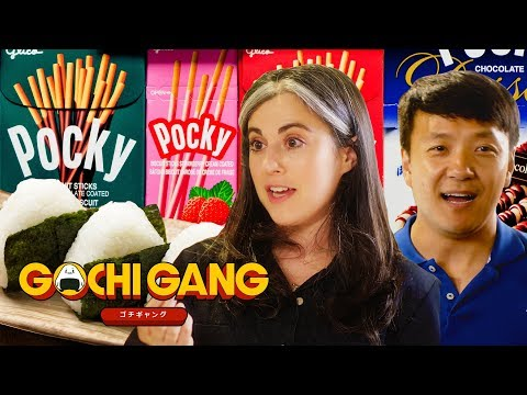 Mike Chen And Claire Saffitz Explore Japanese Street Food And Candy | Gochi Gang