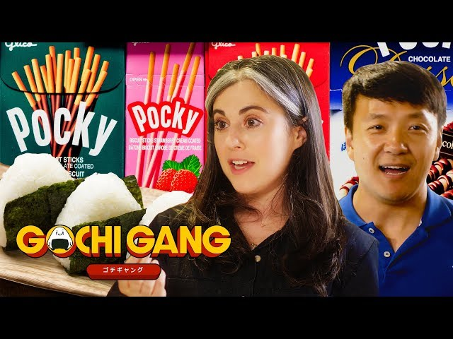 Mike Chen and Claire Saffitz Explore Japanese Street Food and Candy   Gochi Gang