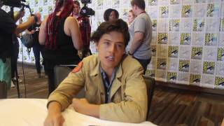 Riverdale Interview with  Cole Sprouse at SDCC 2016
