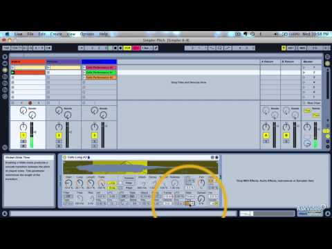 Live 9 201: The Simpler Sampler - 8. Controlling Pitch - Part 1