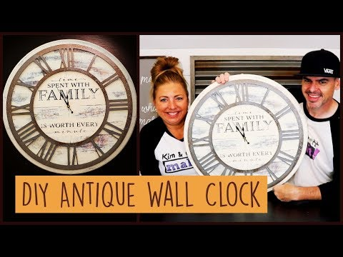 Old Antique DIY Wall Clock for $20