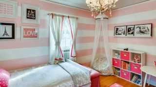 Детская Комната в Современном Стиле | креативный дизайн комнаты девушки