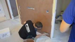 ВИДЕО-УРОК  Эффект шелка или бархата на стене.VELVET DECOR