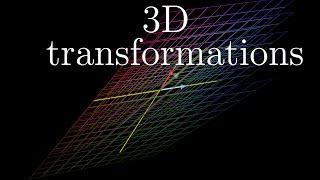 Three-dimensional linear transformations | Essence of linear algebra, footnote