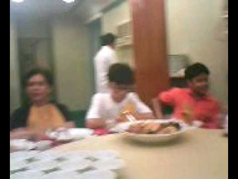 EL SHADDAI BRO REX D. AMERICA'S Family Bonding at Emerald Restaurant in Malate