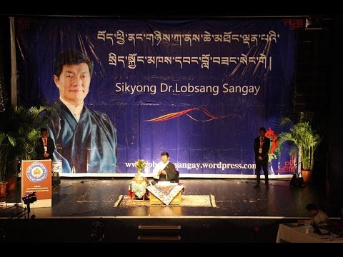 Public Talk by Sikyong Dr.Lobsang Sangay in Zurich February 21.2016  part 1
