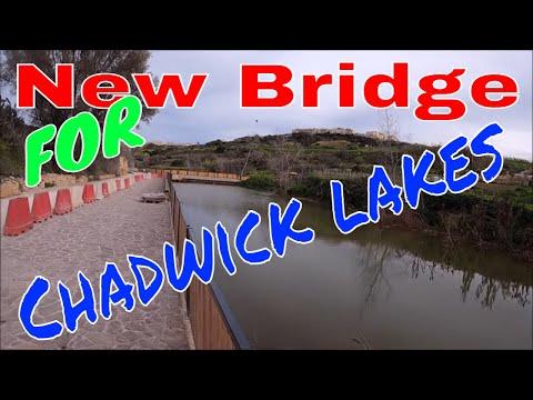 New Bridge at Chadwick Lakes part 3 of upgrade MALTA
