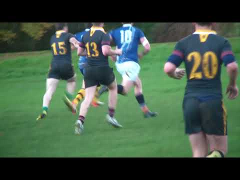 Glasgow Caledonian University Men's Rugby Vs Glasgow University Vets Men's Rugby