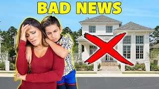 We Have SHOCKING NEWS About Our NEW HOME.. 💔 | The Royalty Family