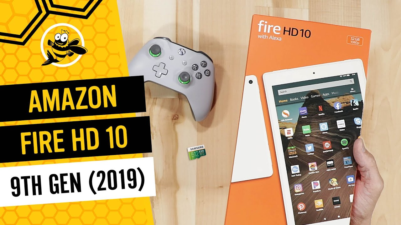 All New Amazon Fire HD 10 Tablet (2019) Unboxing and First Impressions - YouTube