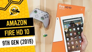 All New Amazon Fire HD 10 Tablet (2019) Unboxing and First Impressions