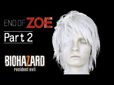 Biohazard 7 最新 DLC 柔伊的結局 Part 2 危機解除  (生化危機 7 中文版)