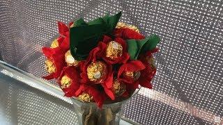 Diy Ferrero Rocher Blumenstrauß Youtube