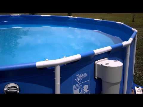 15x42 Summer escapes pool unlevel