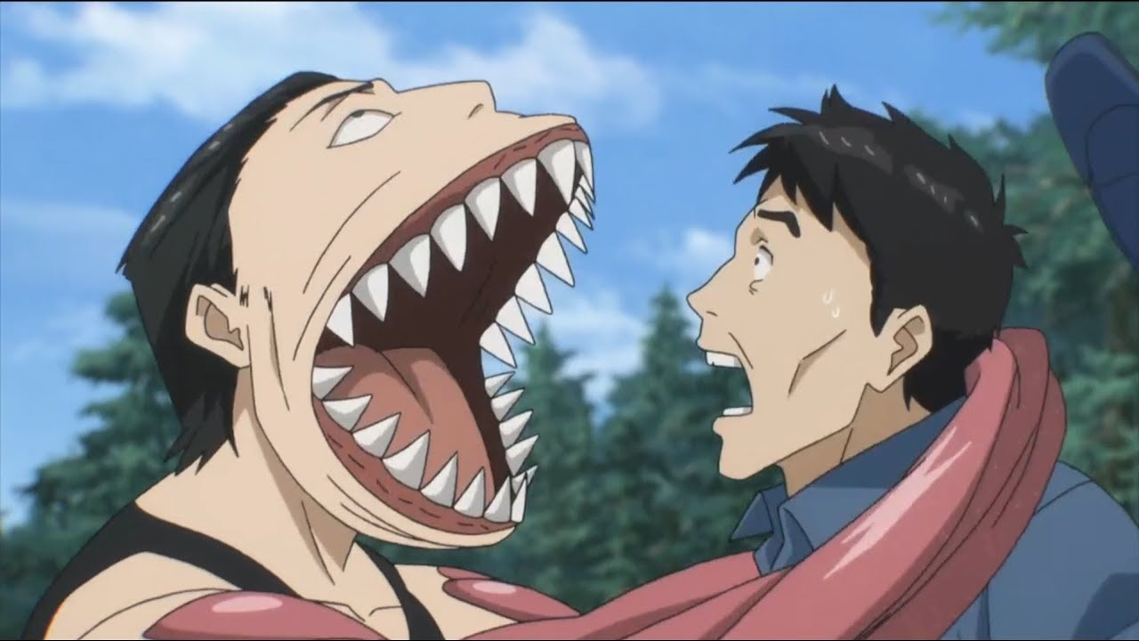 Parasyte The Maxim - Fights from anime compilation 2 - YouTube