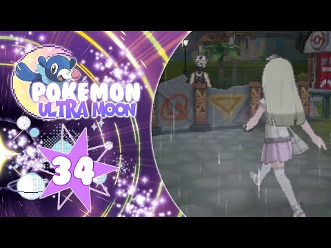 ♡ Pokémon Ultra Moon - 34: Mystery man and heading to Po Town ♡