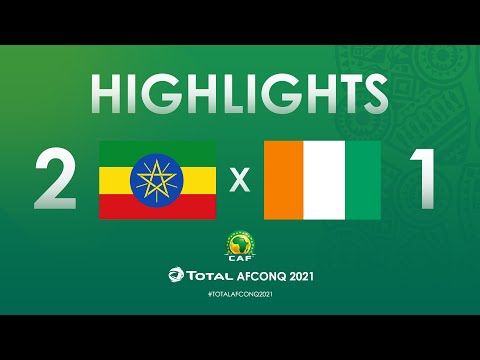 HIGHLIGHTS | #TotalAFCONQ2021 | Round 2 - Group K: Ethiopia 2-1 Côte D'Ivoire